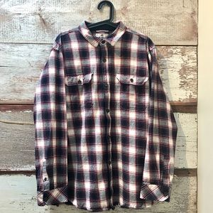 Vintage // flannel shirt